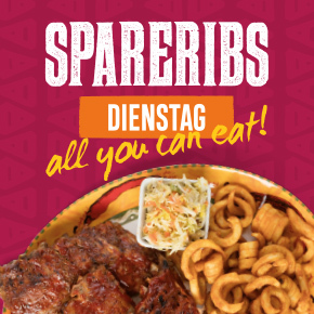 Calimeros Bamberg, Spare Ribs Dienstag